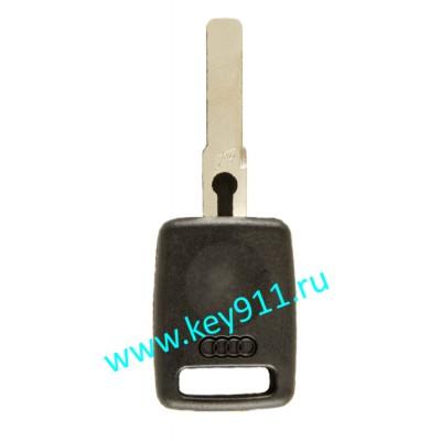 Заготовка ключа Ауди (Audi)   HU66   под чип