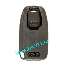 Корпус сервисного смарт ключа для Ауди (Audi) с аварийным ключом | HU66 | под чип