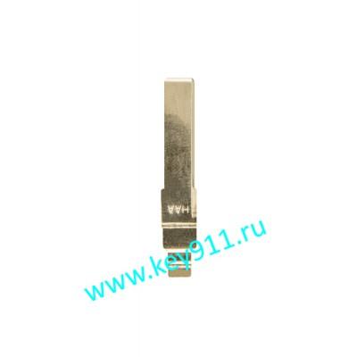 Лезвие выкидного ключа Шкода (Skoda) | Hu66