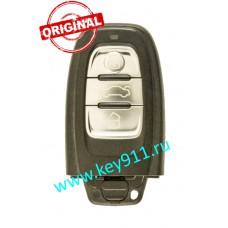 Смарт ключ для Ауди A4, A5, A6, A7, A8, Q5 (Audi A4, A5, A6, A7, A8, Q5) | 8T0959754F | PCF7945AC | KEYLESSGO |2008- | 433.92 MHz Европа