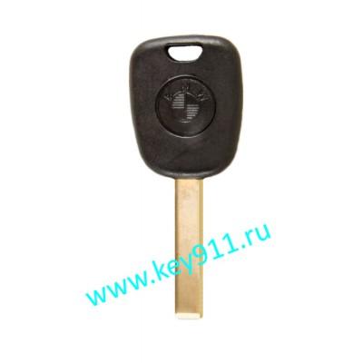 Заготовка ключа БМВ (BMW) | HU92 |  под чип