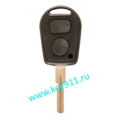 Корпус ключа БМВ (BMW)   HU58   2 кнопки