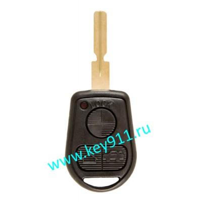 Корпус ключа БМВ (BMW)   HU58   3 кнопки