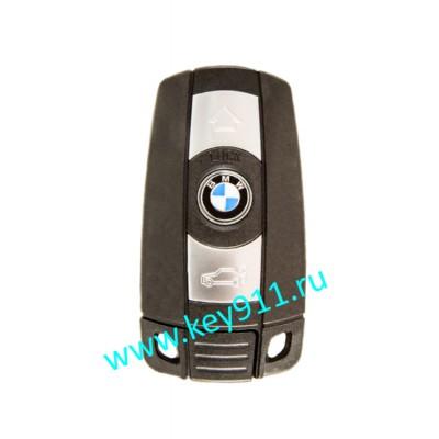 Смарт ключ для БМВ Е серия (BMW E series) | Keyless Go | 868MHz Европа | 3 кнопки