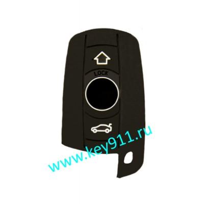 Силиконовый чехол для смарт ключа БМВ (BMW)   3 кнопки