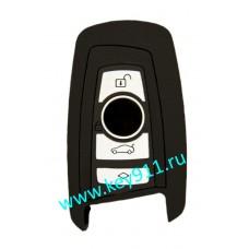 Силиконовый чехол для смарт ключа БМВ (BMW)   4 кнопки