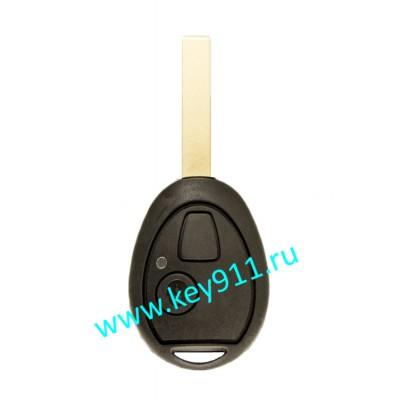 Корпус ключа БМВ Мини (BMW Mini) | HU92 | 2 кнопки