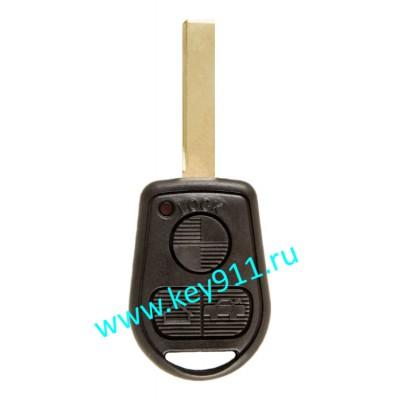 Корпус ключа БМВ (BMW)   HU92   3 кнопки