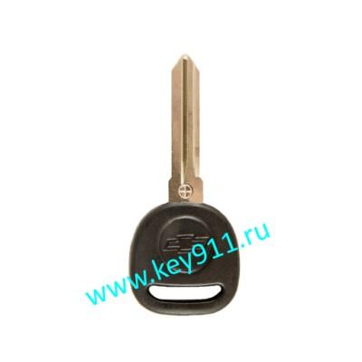 Заготовка ключа Шевроле (Chevrolet) | BT111 | под чип