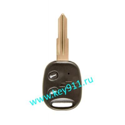 Корпус ключа Шевроле (Chevrolet) | DW05 | 2 кнопки