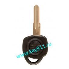 Заготовка ключа Шевроле (Chevrolet) | YM28 | под чип