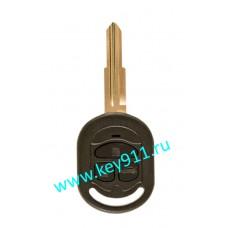 Корпус ключа Шевроле Лачетти (Chevrolet Lacetti) | DW04 | 3 кнопки