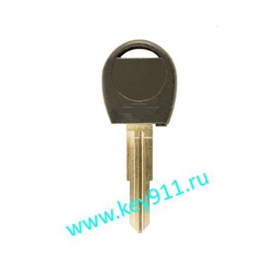Заготовка ключа Шевроле (Chevrolet) | DW04 | под чип