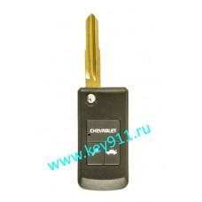 Корпус выкидного ключа Шевроле (Chevrolet) | DW05 | 2 кнопки