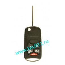 Корпус выкидного ключа Крайслер (Chrysler) | Y160 | 4 кнопки + паника