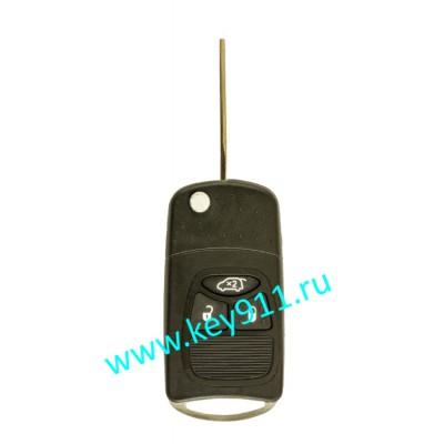 Корпус выкидного ключа Крайслер (Chrysler) | Y160 | 3 кнопки