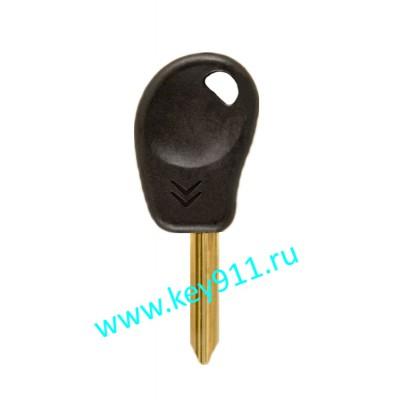 Заготовка ключа Ситроен (Citroen) | SX9 | под чип