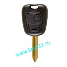 Корпус ключа Ситроен (Citroen) | SX9 | 2 кнопки