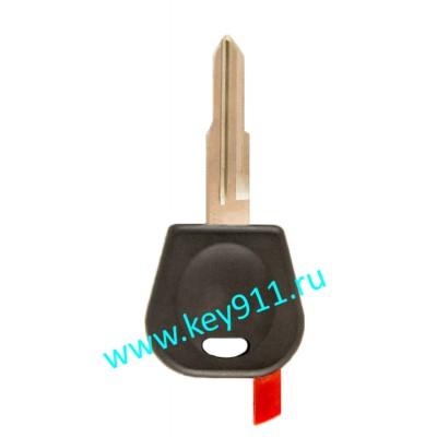 Заготовка ключа Дэу (Daewoo) | DW04 | под чип
