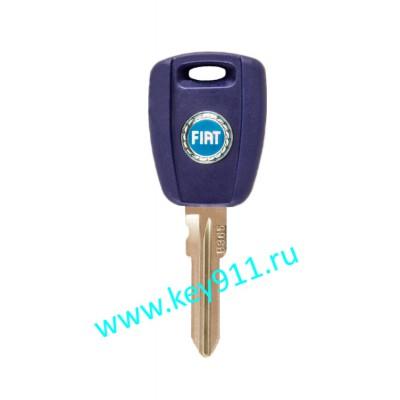 Заготовка ключа Фиат (Fiat) | GT15R | под чип