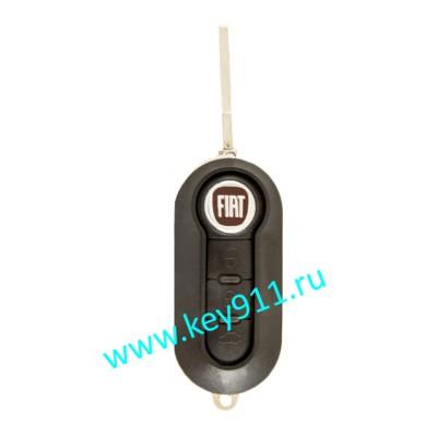 Корпус выкидного ключа Фиат (Fiat) | SIP22 | 3 кнопки