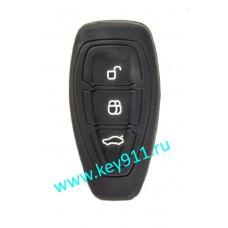 Силиконовый чехол для смарт ключа Форд (Ford)   3 кнопки
