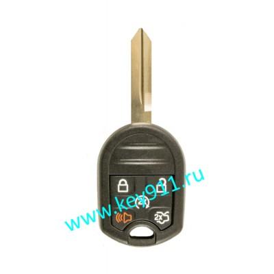 Корпус ключа Форд Эксплорер (Ford Explorer)  FO38   5 кнопок Автозапуск   2013 -