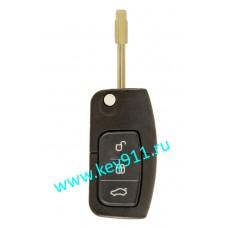 Корпус выкидного ключа Форд (Ford) | FO21 | 3 кнопки