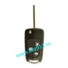 Корпус выкидного ключа Форд (Ford) |HU101 | 3 кнопки