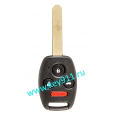 Ключ для Хонда (Honda) | HON66 | PCF7936 | 315MHz Америка | 3 кнопки + паника