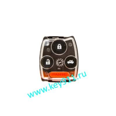 Корпус трансмиттера для ключа Хонда (Honda) | 4 кнопки