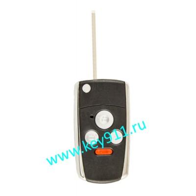 Корпус выкидного ключа Хонда (Honda)   HON66   3 кнопки + паника