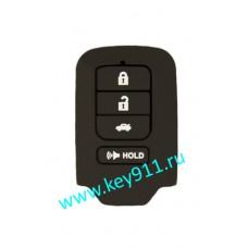 Силиконовый чехол для смарт ключа Хонда (Honda)   4 кнопки