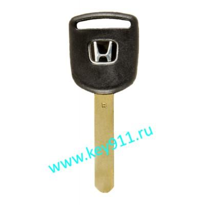 Заготовка ключа Хонда (Honda) | HON66 | под чип
