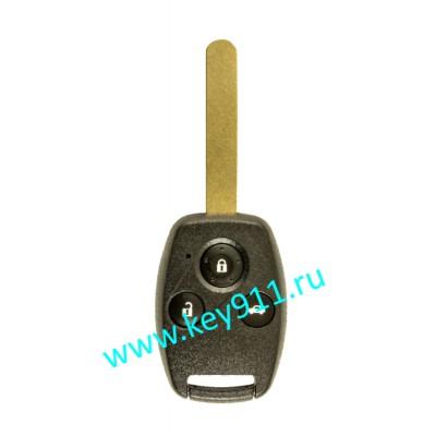 Ключ для Хонда ЦРВ (Honda CRV) | HON66 | PCF7961 | 433MHz Европа | 3 кнопки | 2007-2013