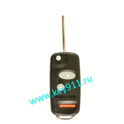 Корпус выкидного ключа Хонда (Honda) | HON58 | 2 кнопки + паника