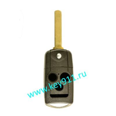 Корпус выкидного ключа Хонда (Honda) | HON66 | 3 кнопки + паника