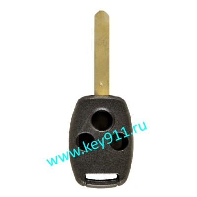 Корпус ключа Хонда (Honda) | HON66 | 3 кнопки