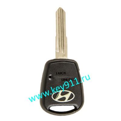 Корпус ключа Хундай (Hyundai) | HYN7L | 1 кнопка