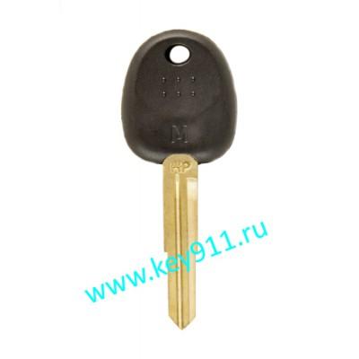 Заготовка ключа Хундай (Hyundai) | HYN7L | под чип