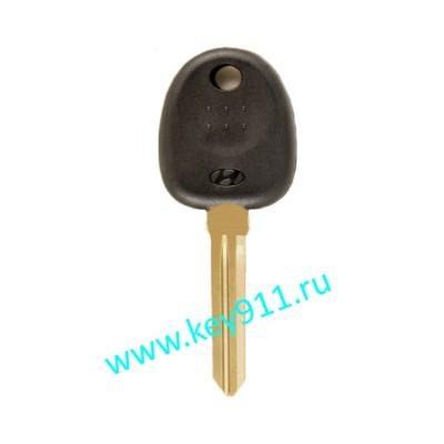 Заготовка ключа Хундай (Hyundai) | HYN14L | под чип