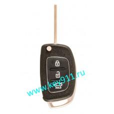 Корпус выкидного ключа Хундай (Hyundai)   TOY48   3 кнопки
