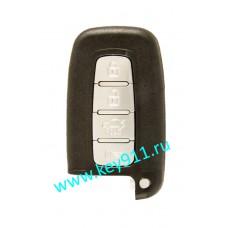 "Смарт ключ для Хундай (Hyundai) с кнопкой ""START-STOP"" | PCF7952 | 433Hz Европа | Keyless Go | 4 кнопки"