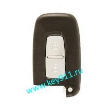 Смарт ключ для Хундай Санта Фе (Hyundai Santa Fe) Keyless Go | PCF7952 | 433Hz Европа | 2 кнопки