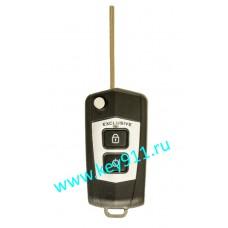 Корпус выкидного ключа Хундай (Hyundai) | HYN6 | 2 кнопки + паника