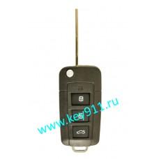 Корпус выкидного ключа Хундай (Hyundai)   HYN6   3 кнопки + паника
