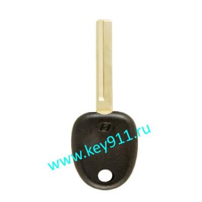 Заготовка ключа Хундай (Hyundai) | HYN17L | под чип