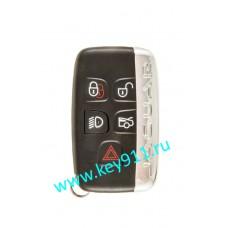 Корпус смарт ключа Ягуар (Jaguar) | 5 кнопок