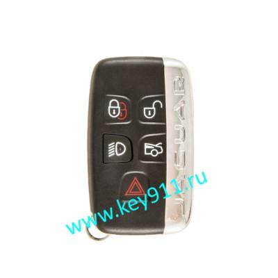 Корпус смарт ключа Ягуар (Jaguar)   5 кнопок