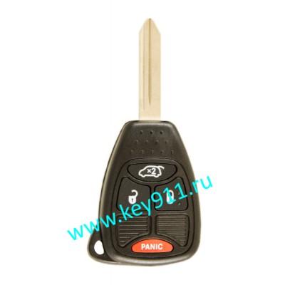 Ключ для Джип (Jeep) | Y160 | PCF7941 | 315MHz Америка | 3 кнопки + паника